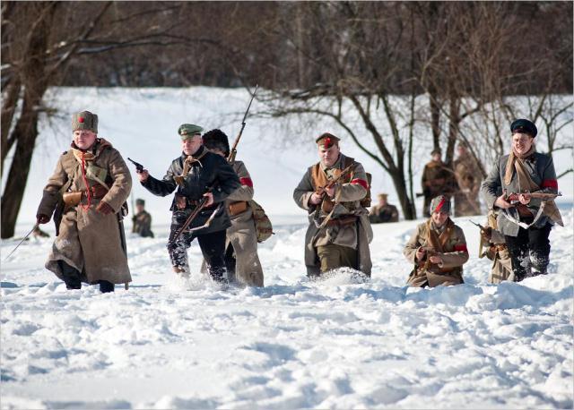 1918 год рождение красной гвардии и